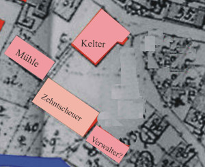 Wirtschaftszentrum Reusten um 1575