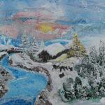 2018-01-01Rehe_an_der_Ammer Acrylbild 84 x 62cm