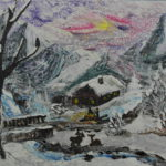 2018-01-14Winter_in_den_Bergen Acryl 84 x 62cm