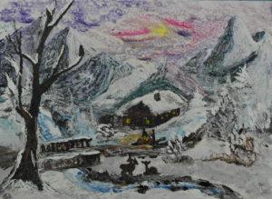 2018-01-14Winter_in_den_Bergen Acryl 84 x 62cm