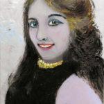 Acrylbild 21 x 30 cm