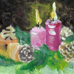 2019-12-05_Zwei Kerzen