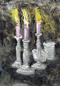 2019-12-13 Drei Kerzen